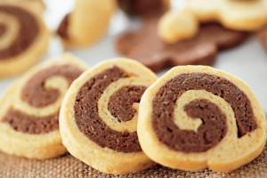 Biscotti delicati al cacao